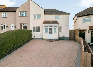 Thumbnail 3 bed end terrace house for sale in Ridge Road, North Cheam, Sutton