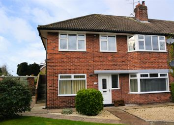 Thumbnail 2 bed flat for sale in Top Stone Close, Burton Salmon, Leeds
