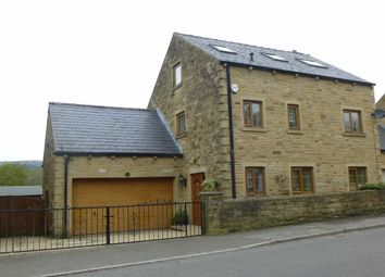 Thumbnail 5 bed detached house for sale in Woolley Bridge Road, Hadfield, Glossop