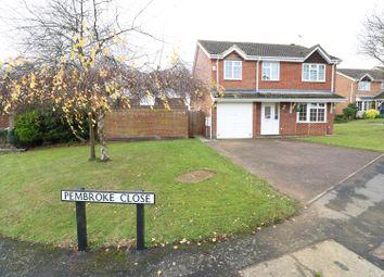 Thumbnail 5 bedroom detached house for sale in Pembroke Close, Rushden