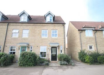 Thumbnail 3 bed town house to rent in Kings Avenue, Ely