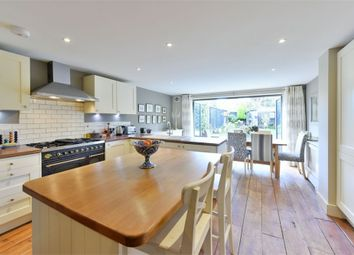 Thumbnail 3 bed terraced house for sale in Park Lawn Road, Weybridge, Surrey