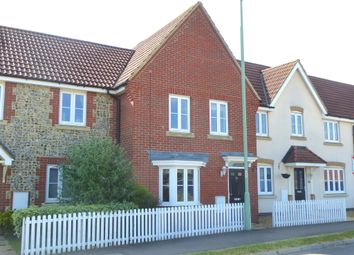 Thumbnail 3 bed terraced house for sale in Hundred Acre Way, Red Lodge, Bury St. Edmunds