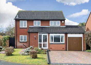 Thumbnail 4 bed detached house for sale in Bracken Close, Boley Park, Lichfield