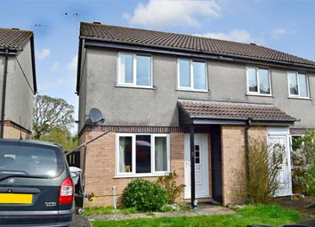 Thumbnail 3 bed semi-detached house for sale in Primrose Close, Torpoint, Cornwall