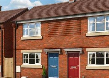 Thumbnail 2 bedroom semi-detached house for sale in The Buttercup, Briars Walk, Cannock