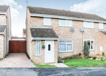 Thumbnail 3 bed semi-detached house for sale in Trinity Close, Stefen Hill, Daventry
