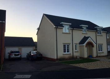 Thumbnail 4 bed detached house to rent in Kemble Road, Monmouth, Gwent