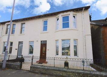 Thumbnail 2 bed flat for sale in Broadloan, Renfrew