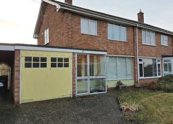 Thumbnail 3 bed semi-detached house to rent in Hampton Dene Road, Hereford