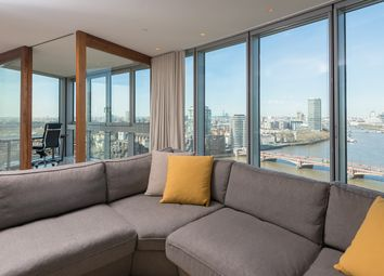 Thumbnail 3 bed flat to rent in 1 St George's Wharf, London