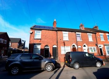 Thumbnail 4 bedroom end terrace house to rent in Shaw Street, Newcastle-Under-Lyme, Newcastle-Under-Lyme