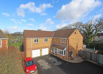 Thumbnail 5 bed detached house for sale in Blenheim Court, Willand