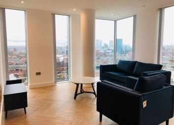 Thumbnail 3 bed flat to rent in Silvercroft Street, Manchester