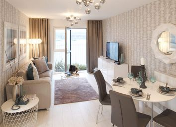Thumbnail 2 bedroom flat for sale in Plot 80, Meridian Waterside, Southampton