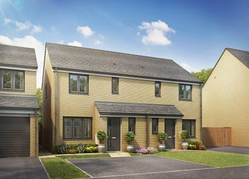 "Thumbnail 3 bedroom end terrace house for sale in ""The Hanbury "" at Brickburn Close, Hampton Centre, Peterborough"