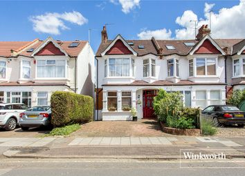 Thumbnail 4 bedroom end terrace house for sale in Grove Road, North Finchley, London