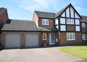 Thumbnail 4 bed detached house for sale in Wellington Park, Shirland, Alfreton, Derbyshire