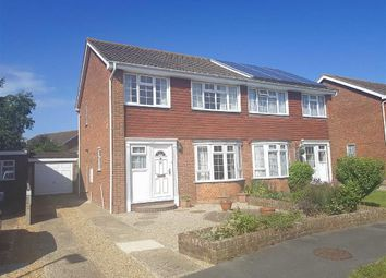Thumbnail 3 bed semi-detached house for sale in Cromer Way, Hailsham