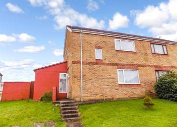 Thumbnail 3 bed semi-detached house for sale in Philip Avenue, Cefn Glas, Bridgend.
