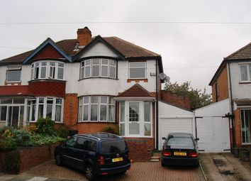 Thumbnail 3 bedroom semi-detached house to rent in Mildenhall Road, Great Barr