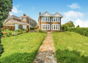 Thumbnail 4 bedroom detached house for sale in Tynewydd Road, Barry