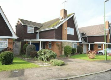 Thumbnail 3 bed detached house for sale in Downsview Road, Horsham