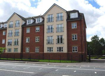Thumbnail 2 bed flat to rent in Egremont Court, Wilderspool Causeway, Warrington