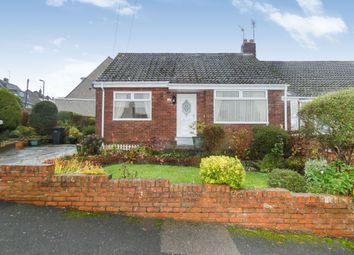 Thumbnail 2 bed bungalow for sale in Barley Mill Crescent, Bridgehill, Consett