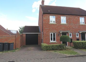 Thumbnail 3 bed semi-detached house for sale in Pomeroy Close, Bedford