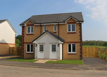 Thumbnail 2 bed semi-detached house for sale in Meadowfoot Gardens, Ecclefechan, Lockerbie