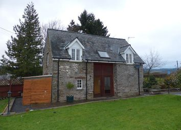 Thumbnail 2 bed barn conversion to rent in Boughrood, Brecon