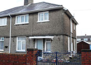 Thumbnail 4 bedroom semi-detached house for sale in Llys Gwyn Terrace, Pontarddulais, Swansea, Glamorgan