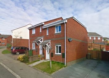 Thumbnail 2 bed terraced house to rent in Hickory Drive, Plymouth