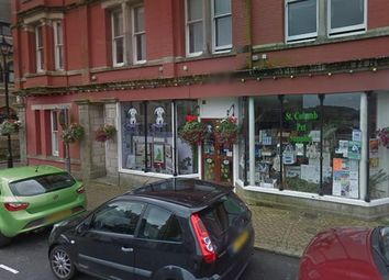 Thumbnail Retail premises for sale in Shop 1, Market Place, St. Columb, Cornwall