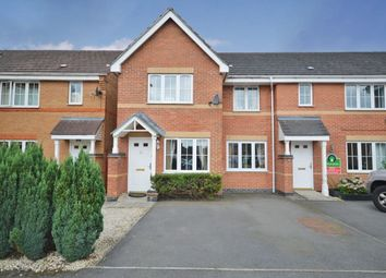 Thumbnail 3 bed terraced house for sale in Hampton Close, Coalville