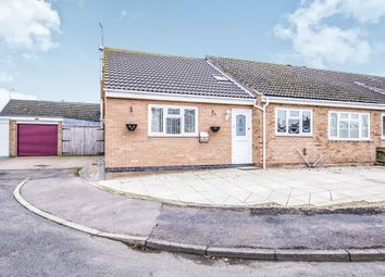 Thumbnail 4 bed semi-detached bungalow for sale in Kestrel Close, Broughton Astley, Leicester