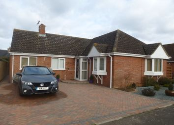 Thumbnail 3 bedroom detached bungalow for sale in Hudson Way, Barrow, Bury St. Edmunds