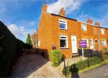 Thumbnail 2 bed end terrace house for sale in North Kelsey Road, Caistor