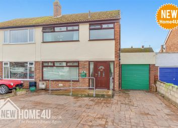 Thumbnail 4 bed semi-detached house for sale in Carton Road, Mynydd Isa, Mold