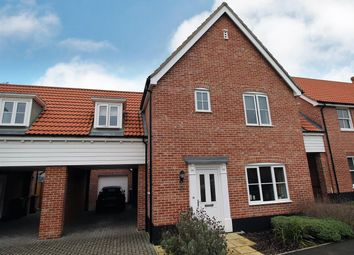 Thumbnail 3 bed link-detached house for sale in Ammonite Drive, Needham Market, Ipswich