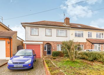 Thumbnail 4 bed semi-detached house for sale in The Ridgeway, St.Albans