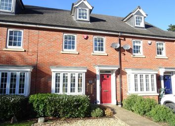 Thumbnail 3 bed town house for sale in Burgess Drive, Earl Shilton, Leicester