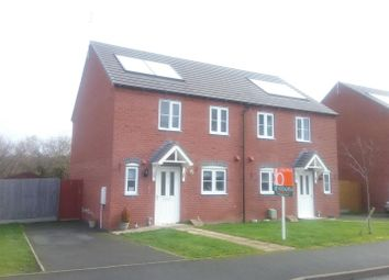 Thumbnail 2 bed semi-detached house for sale in Orchid Meadow, Minsterley, Shrewsbury