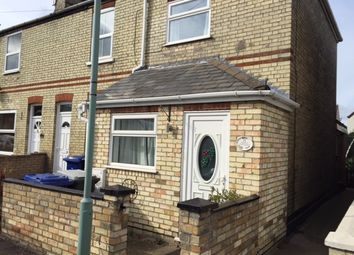 Thumbnail 2 bed end terrace house to rent in Croft Road, Newmarket