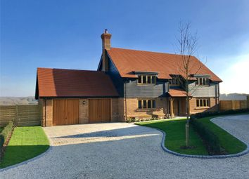 Thumbnail 5 bedroom detached house for sale in Holly Bush View, Gibbs Brook Lane, Oxted, Surrey