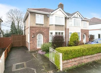 Thumbnail 3 bed semi-detached house for sale in Park Drive, Hoole, Chester, Cheshire