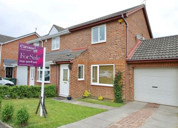 Thumbnail 2 bed semi-detached house for sale in Glanville Close, Festival Park, Gateshead, Tyne & Wear