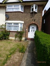 Thumbnail 3 bedroom end terrace house to rent in Wilsden Avenue, Luton