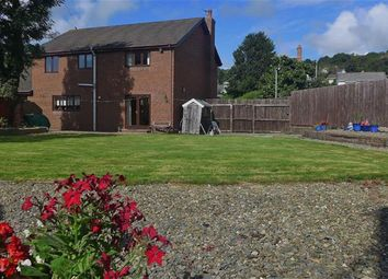 Thumbnail 4 bed detached house for sale in Pwllhobi, Aberystwyth, Ceredigion